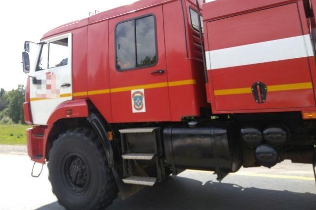 Пожар в Центральном районе, города Оренбург