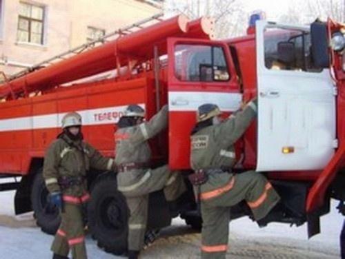 Пожар в городе Медногорске — МЧС России по Оренбургской области