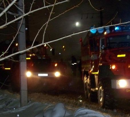 Пожар в Кваркенский район, село Кваркено
