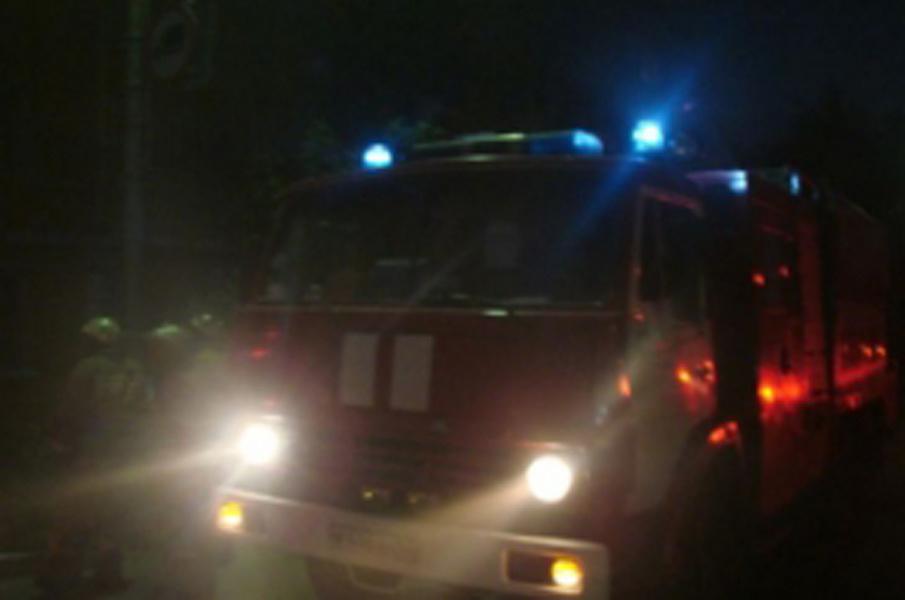 Пожар в Ясненском городском округе, поселок Новосельский