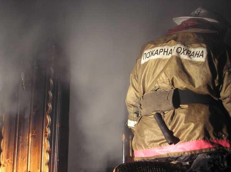 Пожар в Сорочинском городском округе