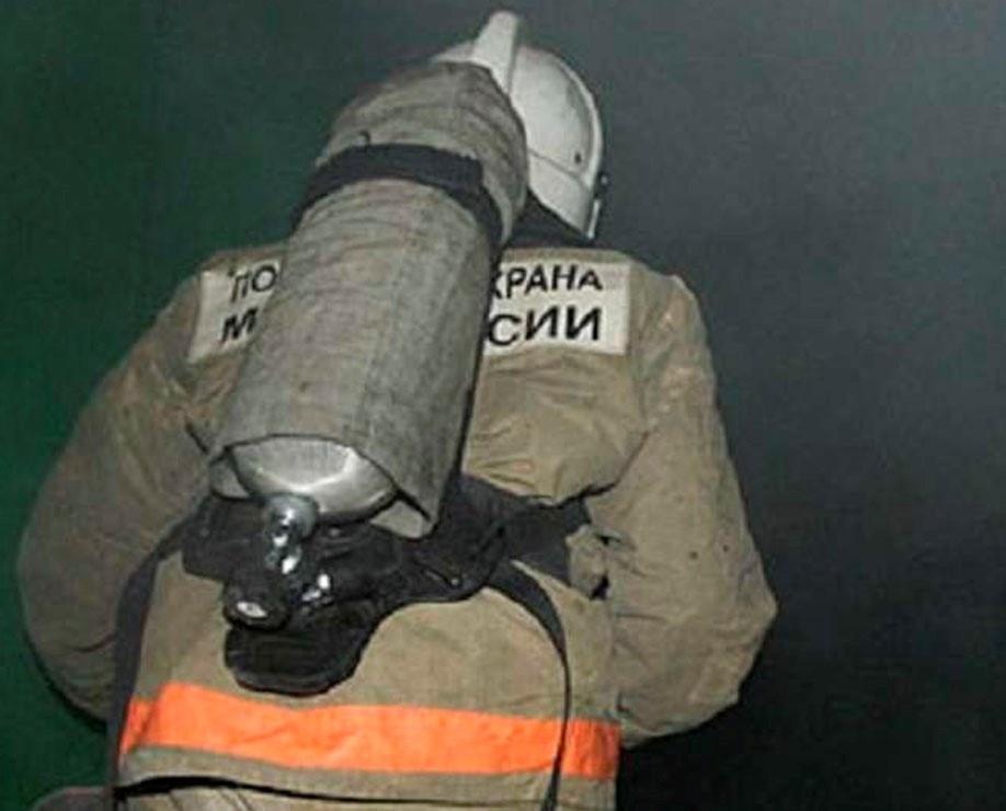 Пожар в Беляевском районе, село Карагач