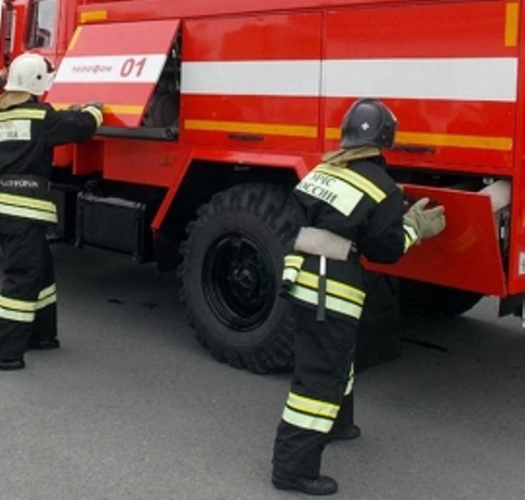 Пожар в Кваркенском районе поселок Майский