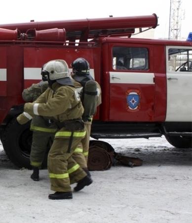 Пожар в Оренбургском районе — МЧС России по Оренбургской области