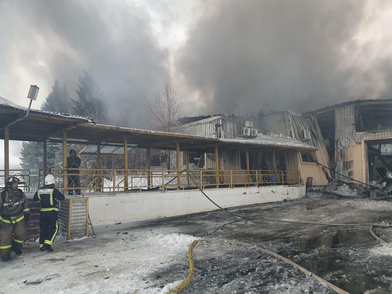 Пожар в городе Новотроицк ликвидирован
