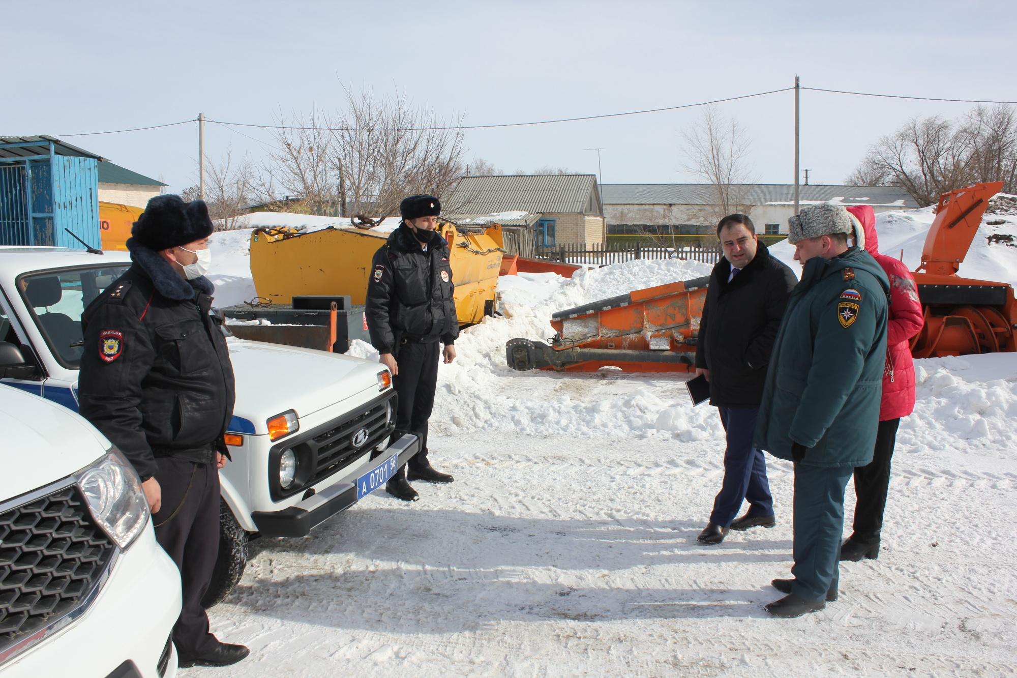 Подготовка к паводку в Первомайском муниципальном районе