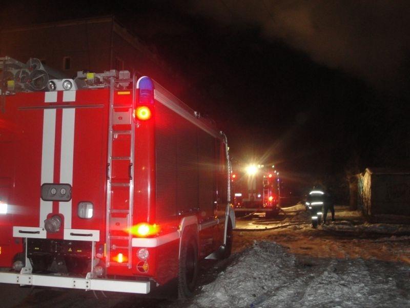 Пожар в Бузулукском районе, село Могутово