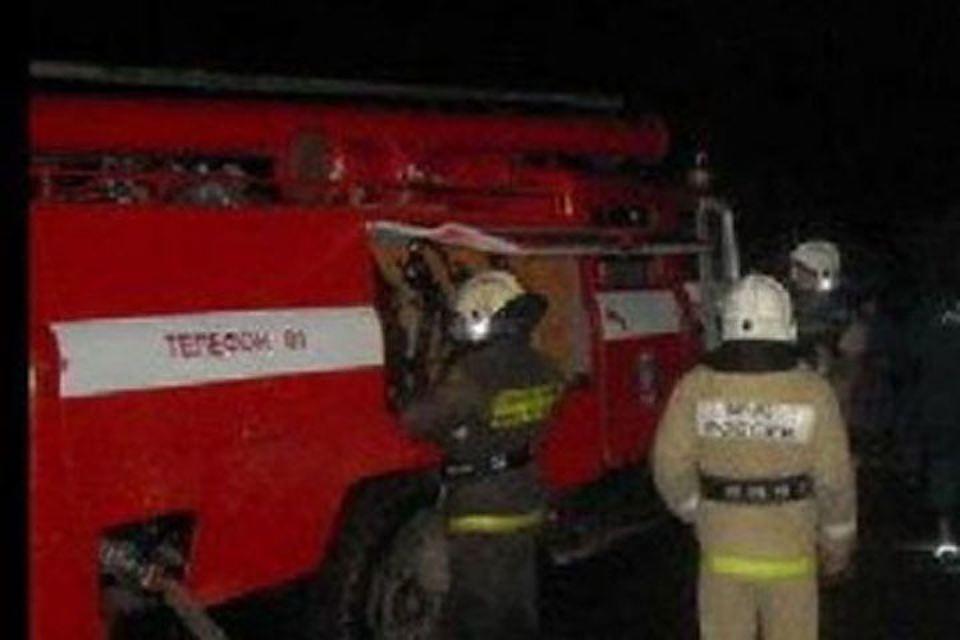 Пожар в Переволоцком районе — МЧС России по Оренбургской области