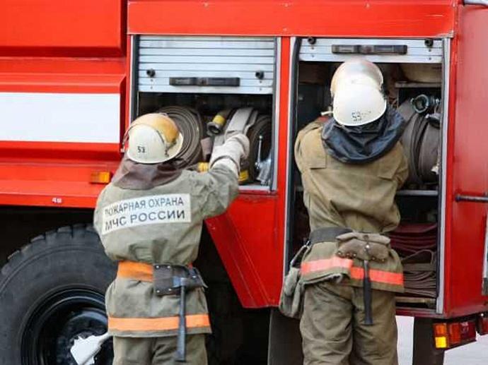 Пожар в Илекском районе, село Сухоречка