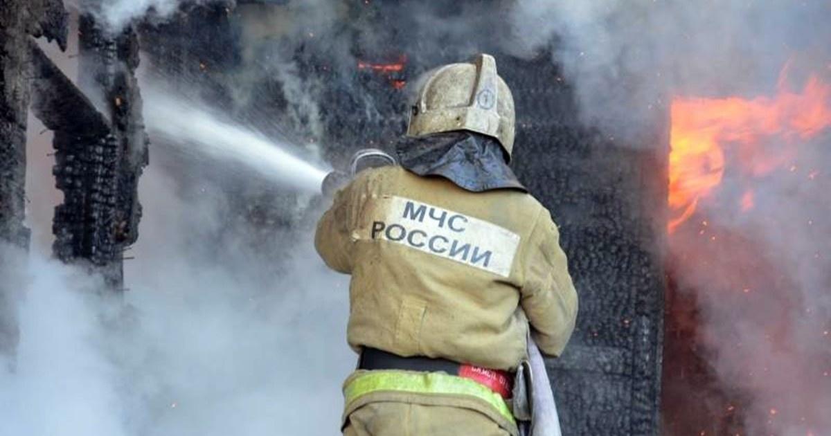 Пожар в Беляевском районе — МЧС России по Оренбургской области