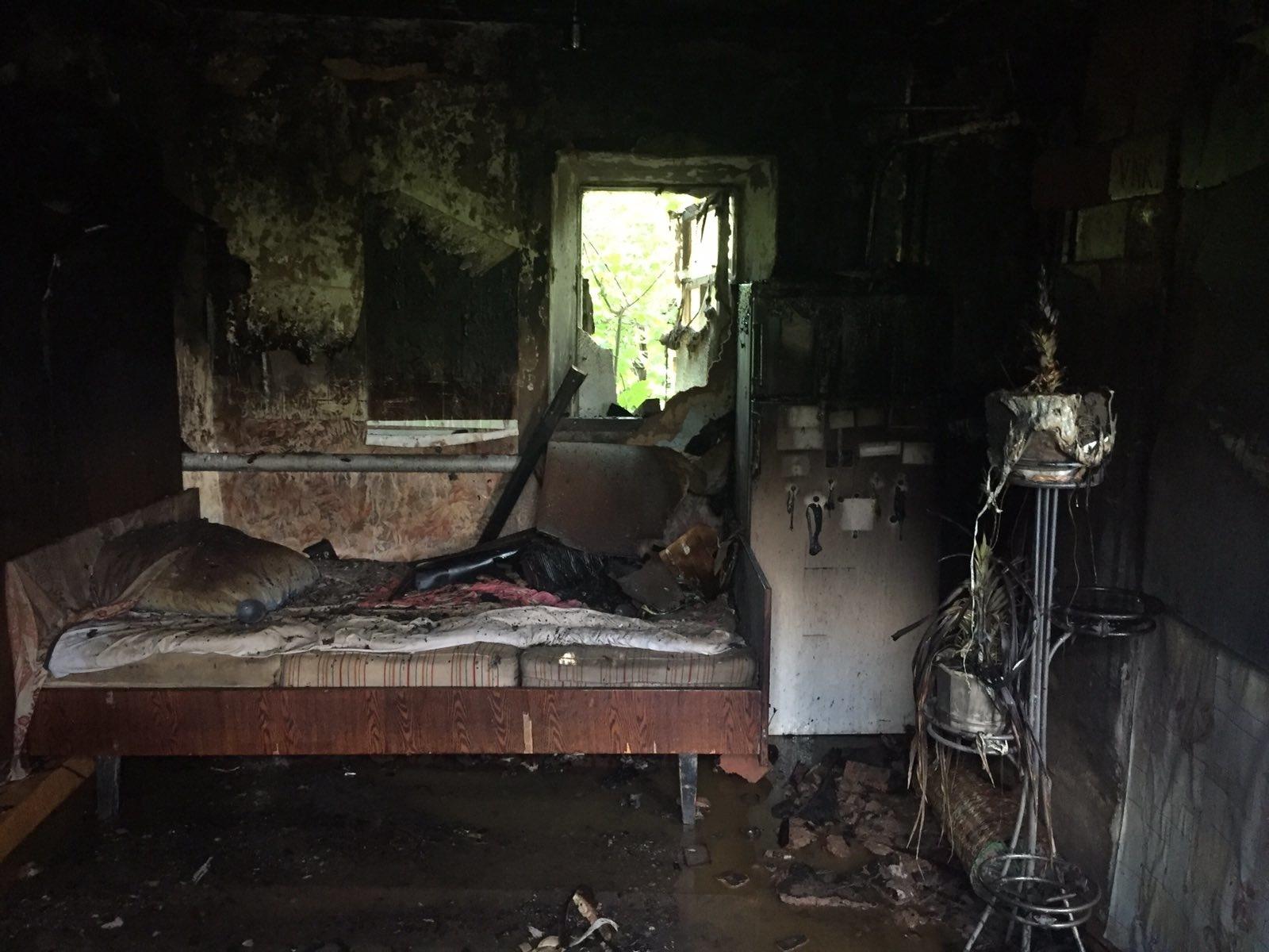 На пожаре в Беляевском районе погиб мужчина