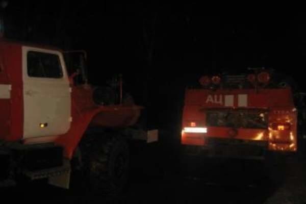 Пожар в Сакмарском районе — МЧС России по Оренбургской области