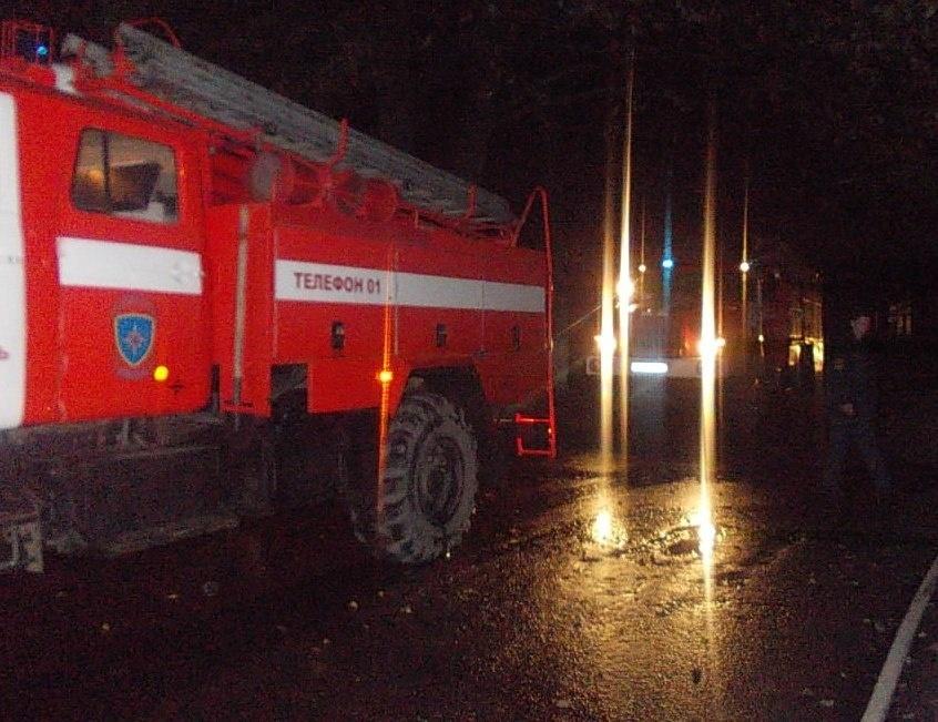 Пожар в Тюльганском районе, село Репьевка