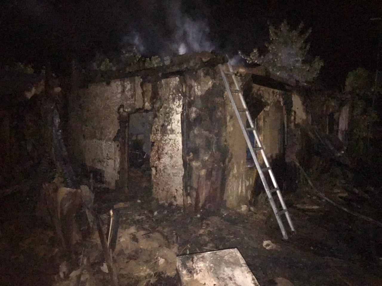 Ночной пожар в селе Сухоречка унёс жизнь женщины