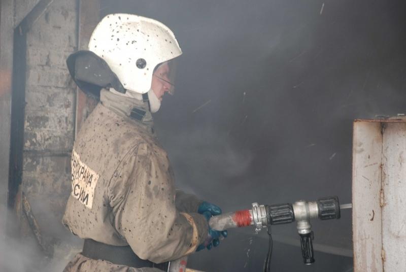 Пожар в Беляевском районе, окраина с. Жанаталап