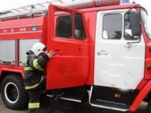 Пожарно-спасательные подразделения МЧС России выехали на пожар в Шарлыкском районе, село Радчено