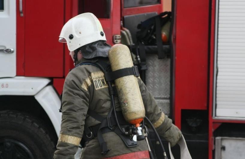 Пожар в Октябрьском районе, село Белозерка