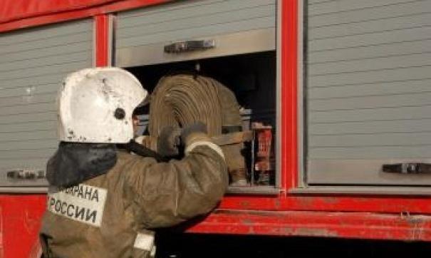 Пожар в Тоцком районе, село Погромное