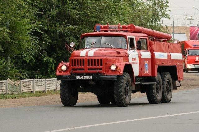 Пожар в Пономаревском районе, с. Пономаревка