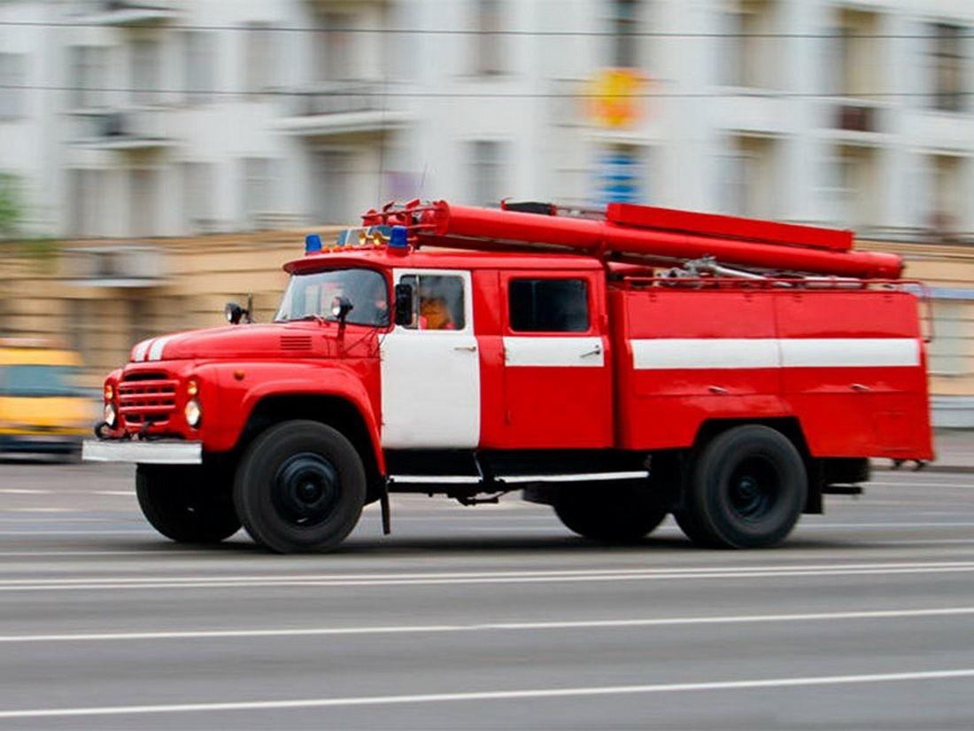 Пожар в Тоцком районе, село Тоцкое-2