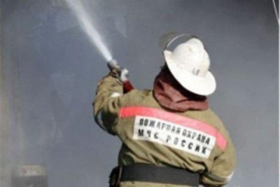 Пожар в Тоцком районе — МЧС России по Оренбургской области